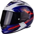 Moto přilba SCORPION EXO-510 AIR CROSS modro/bílo/neonově červená