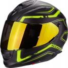 Moto přilba SCORPION EXO-510 AIR RADIUM matná černo/neonově žlutá