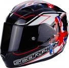 Moto přilba SCORPION EXO-1200 AIR ALTO černo/bílo/červená