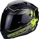 Moto přilba SCORPION EXO-1200 AIR ALTO matná černo/neonově žlutá