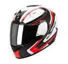 Moto přilba SCORPION EXO-2000 EVO AIR CARB bílo/červeno/černá
