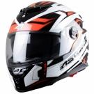 Moto přilba ASTONE GT800 FUTURA černo/červená