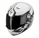 Moto přilba SCORPION EXO-500 AIR BLADE bílo/stříbrná alu