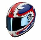 Moto přilba SCORPION EXO-500 AIR CLASSICO modro/červeno/bílá