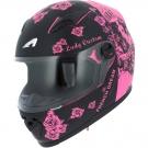 Moto přilba ASTONE GT2 LADY CUSTOME růžovo/černá