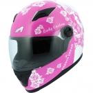 Moto přilba ASTONE GT2 LADY CUSTOME růžovo/bílá