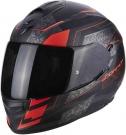 Moto přilba SCORPION EXO-510 AIR GALVA matná černo/neonově červená