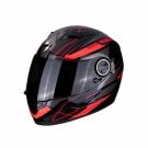 Moto přilba SCORPION EXO-490 NOVA černo/červená