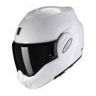 Moto přilba SCORPION EXO-TECH solid bílá