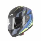 Moto přilba ASTONE GT900 exclusive ALPHA modro/žlutá