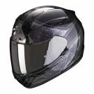 Moto přilba SCORPION EXO-390 CLARA černo/stříbrná