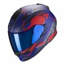 Moto přilba SCORPION EXO-510 AIR BALT matná modro/červená