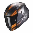Moto přilba SCORPION EXO-510 AIR FERRUM matná černo/oranžovo/stříbrná